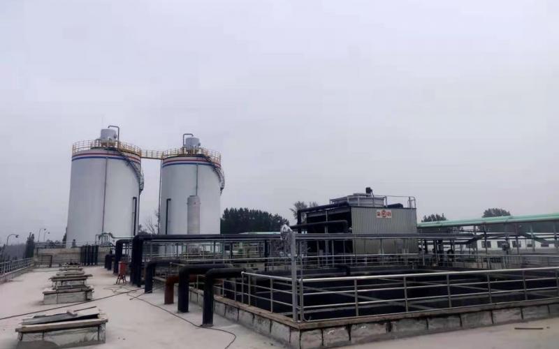 新乡垃圾渗滤液项目竣工
